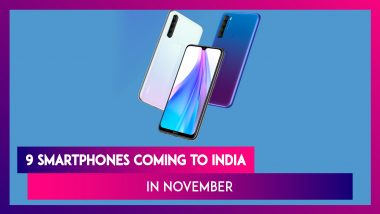 9 Smartphones Coming To India In November: Realme X2 Pro, Xiaomi Mi Note 10, Poco F2, Redmi Note 8T, Honor V30 & Mi A3 Pro